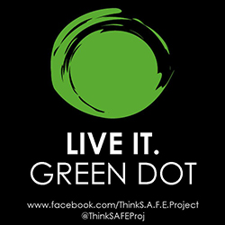 Change your profile picture! Green Dot Week organizers are encouraging members of the College community to change their Facebook profile pictures to the image above.