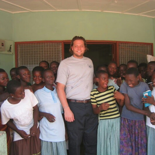 From Argentina, Benjamin Lodmell '93 runs his family's charity, World Children's Relief, which has sponsored the education of more than 16,000 girls in northern Ghana.