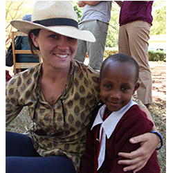 Molly Hayward '10 recently traveled to Kenya, where she spent three weeks conducting research on the issue of menstruation with women and girls of the Maasai tribe.