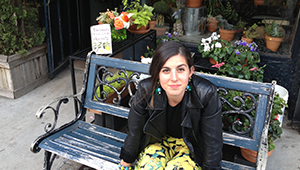 Jessica Soffer '07, who taught creative writing at Connecticut College last fall, grew