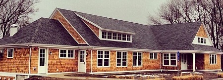 Zachs Hillel House at Connecticut College, as seen on opening day, February 2014.