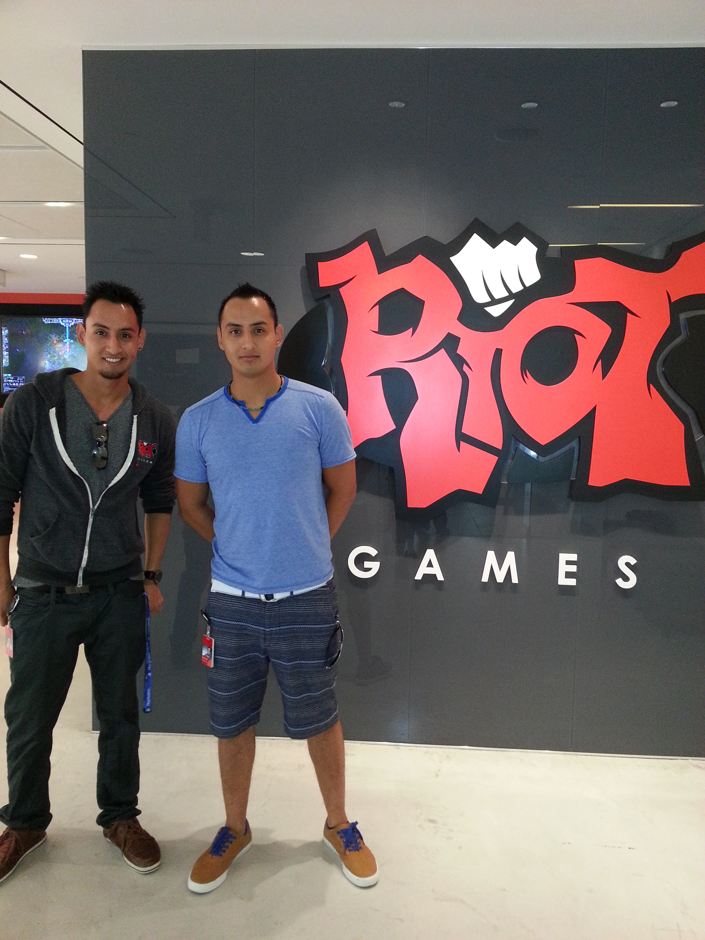 Identical twins Oscar and Edgardo Monteon '09 are designing video-game characters for Riot Games, designers of the award-winning online video game, League of Legends.