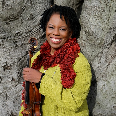 Regina Carter. Photo by Christopher Drukker.
