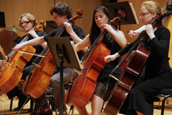 The Connecticut College Orchestra will perform May 3. Photos courtesy of Professor Robert Baldwin.