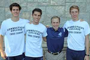 The 2012 Camel Leadership Team: Tim Murtagh, Andrew Duarte, Head Coach Jim Butler & Mike LeDuc