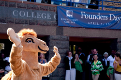 Founders Day, the anniversary of the signing of Connecticut College's charter, is April 5. The College is celebrating its 101st birthday with a series of events.