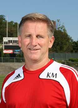 Kenny Murphy, above, has been named men´s soccer head coach at Connecticut College.