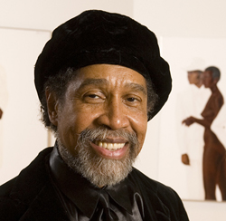 Barkley L. Hendricks, professor of studio art, is the winner of the College Art Association´s 2010 Artist Award for a Distinguished Body of Work. Photo courtesy of Duke Photography.
