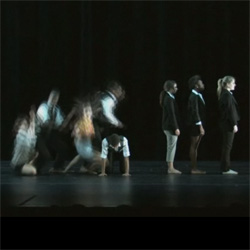 "Junior Chloe Spitalny's original dance piece, ""Riding in Elevators with Executives,"" was recently performed at the American College Dance Festival Association's New England Conference."