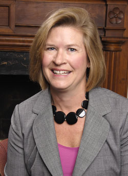 Dean of Admission and Financial Aid Martha Merrill '84