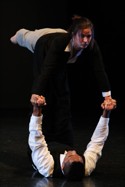 Connecticut College is hosting the American College Dance Festival Association New England Conference Feb. 8-11. Public performances are Feb. 8 and Feb. 11 at 8 p.m. in Palmer Auditorium. Photo by Miguel Salcedo '14.