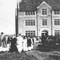Official opening of Connecticut College, Oct. 9, 1915.