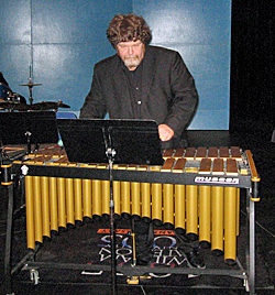 Music professor Peter Jarvis