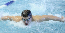 Sam Gill '14, who was recently named Councilman Hunsaker/ Division III National Swimmer of the Week.