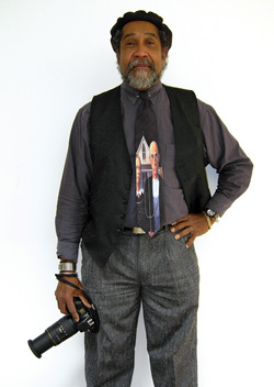 Art professor Barkley L. Hendricks was the subject of an eight-page cover story in the April edition of Artforum Magazine.