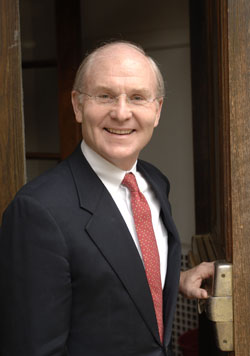 Connecticut College President Lee Higdon