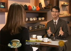 Professor Takeshi Watanabe explains the universal appeal of tea to CBS Sunday Morning reporter Serena Altschul.