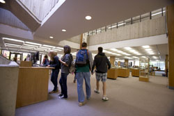 The Charles E. Shain Library will be the home of Connecticut College's new Academic Resource Center.