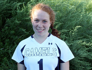 Laura Sanderson '14 Scored a Pair of Goals to Lead the Camels in and Opening Night Victory at Eastern Connecticut State University Thursday
