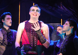 "Students perform ""The Rocky Horror Show."""