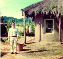 Leo I. Higdon Jr. in Malawi during his service in the Peace Corps