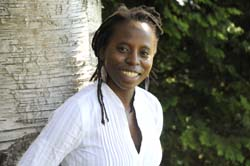 Nathalie Etoke, assistant professor of French and Africana studies