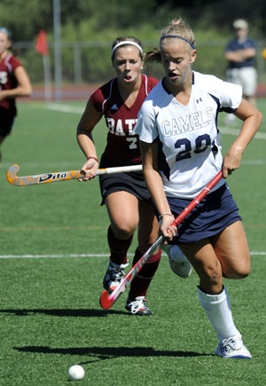 Brittany Fitzgerald '13 Scored a First Half Goal in a 3-2 Victory at Colby Saturday