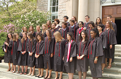 CISLA Class of 2013, the Toor-Cummings Center for International Studies and the Liberal Arts, which allows students to internationalize their majors through intensive language study and a funded international internship