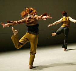 David Dorfman Dance performers in