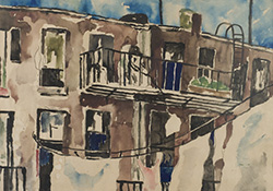 """Tenement Houses"" by Martino Jasoni"