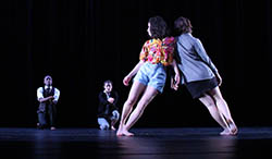 Dance department students perform in