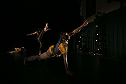 David Dorfman Dance, Connecticut College's dance company-in-residence, will perform during the onStage season.