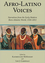 Afro-Latino Voices book co-edited by Leo Garofalo