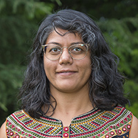 A portrait of professor Manali Sheth