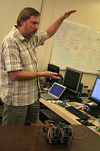 Gary Parker, Professor of Computer Science, Chair of Computer Science Department