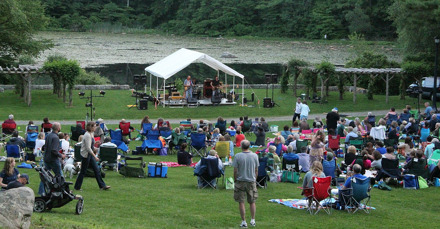 music in the meadow · connecticut college music in the meadow
