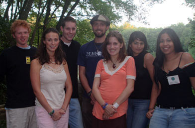 Members of the Goodwin-Niering Center for the Environment Class of 2007.