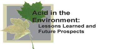 Acid in the Environment Logo