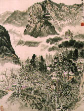 Filled with notable examples of the work of Chinese painters of the 20th century, with emphasis on landscapes and depictions of birds, flowers and animals.