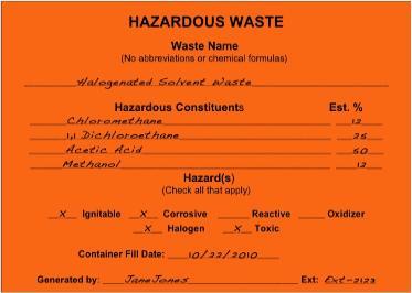 waste management plans template - hazardous waste management plan connecticut college