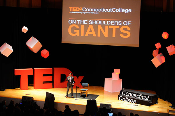 A photo from the 2013 TEDxConnecticutCollege
